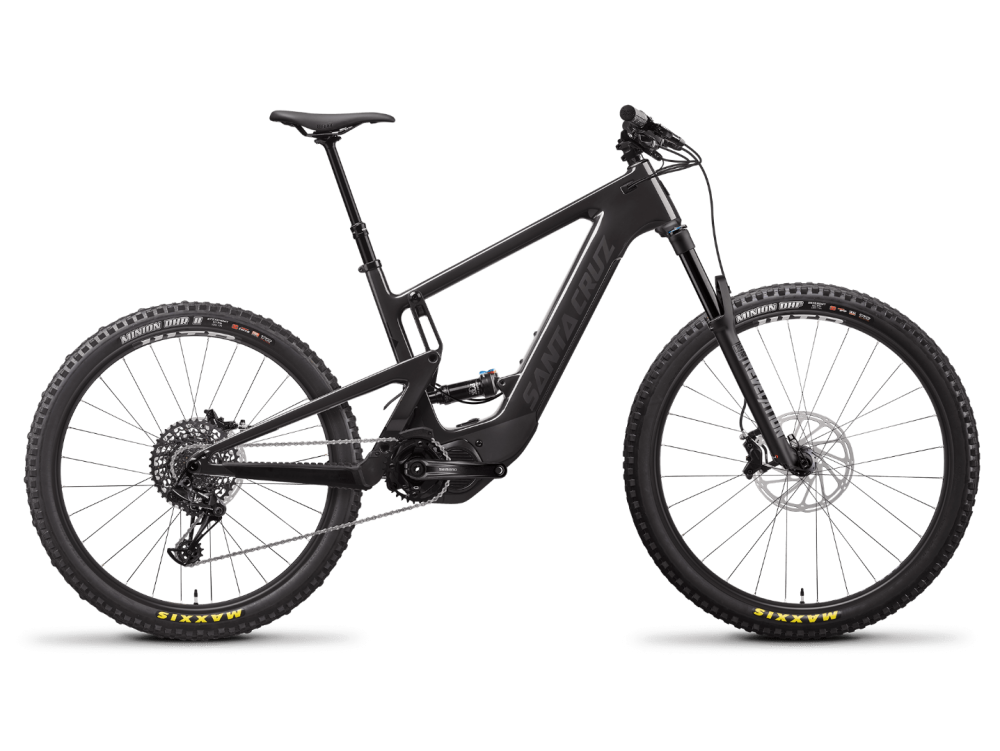 Santa Cruz Heckler 8 MX XT Größe L Gloss Carbon and Black