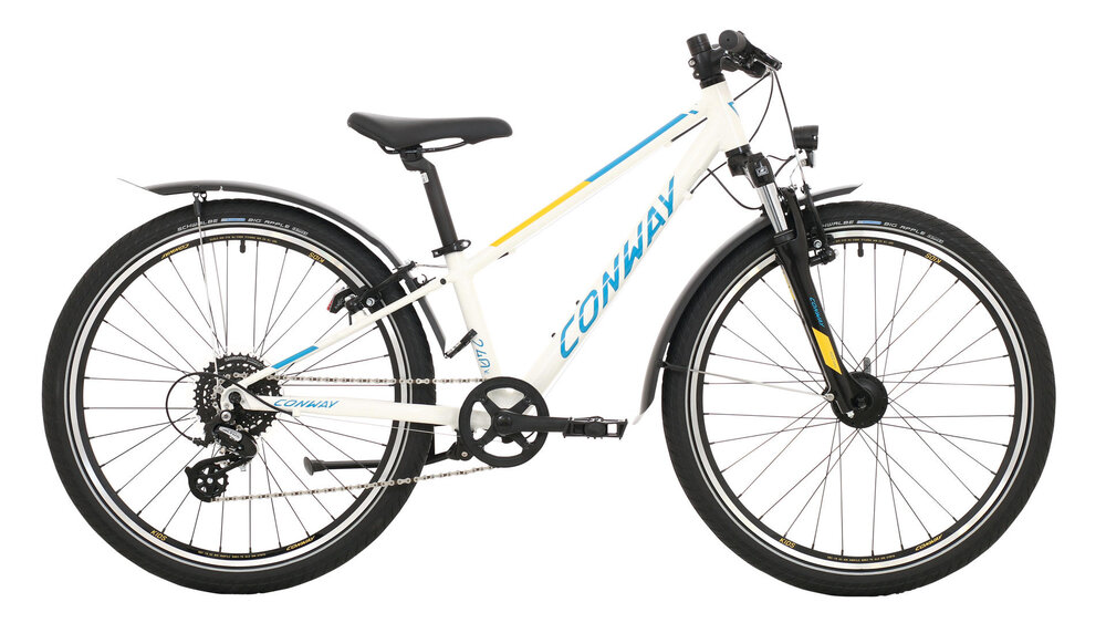 CONWAY MC 240 Suspension 8-Gang SHIMANO  Altus  white / blue 28cm