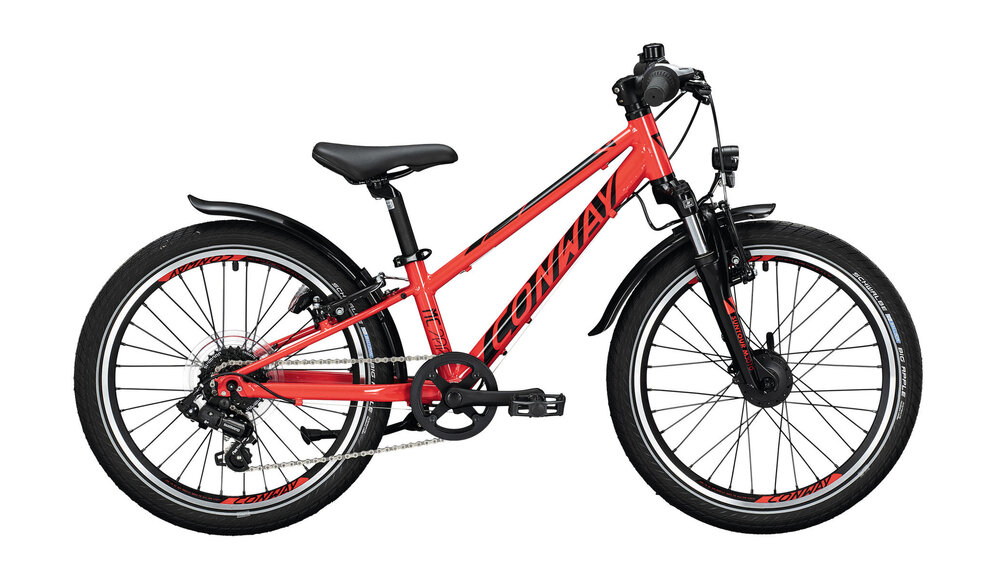 Conway MC 200 Suspension Kinder 23 cm rot, schwarz