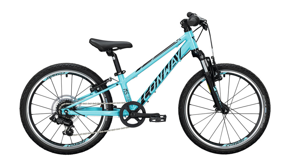 CONWAY MS 200 Suspension 7-Gang SHIMANO  TX-35  turquoise / black 23cm